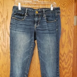 American eagle skinny stretch jeans Sz 8
